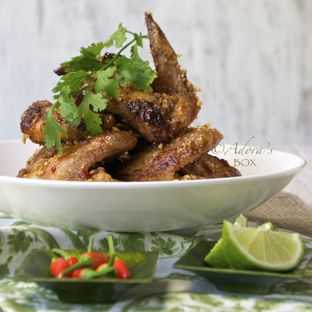Adora 39 s box fish sauce chicken wings for Fish and wings