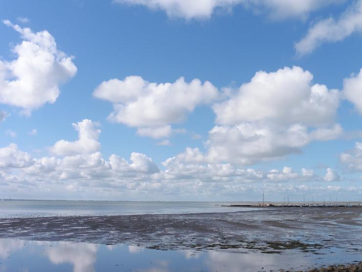 Waddenzee bij de jachthaven van Schiermonnikoog