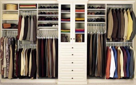 Dise o closets para dormitorios decorar tu habitaci n for Closets modernos para parejas