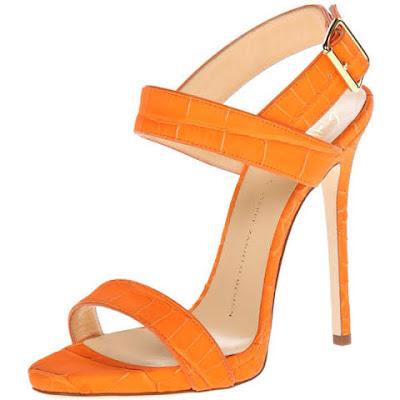 sandalia laranja