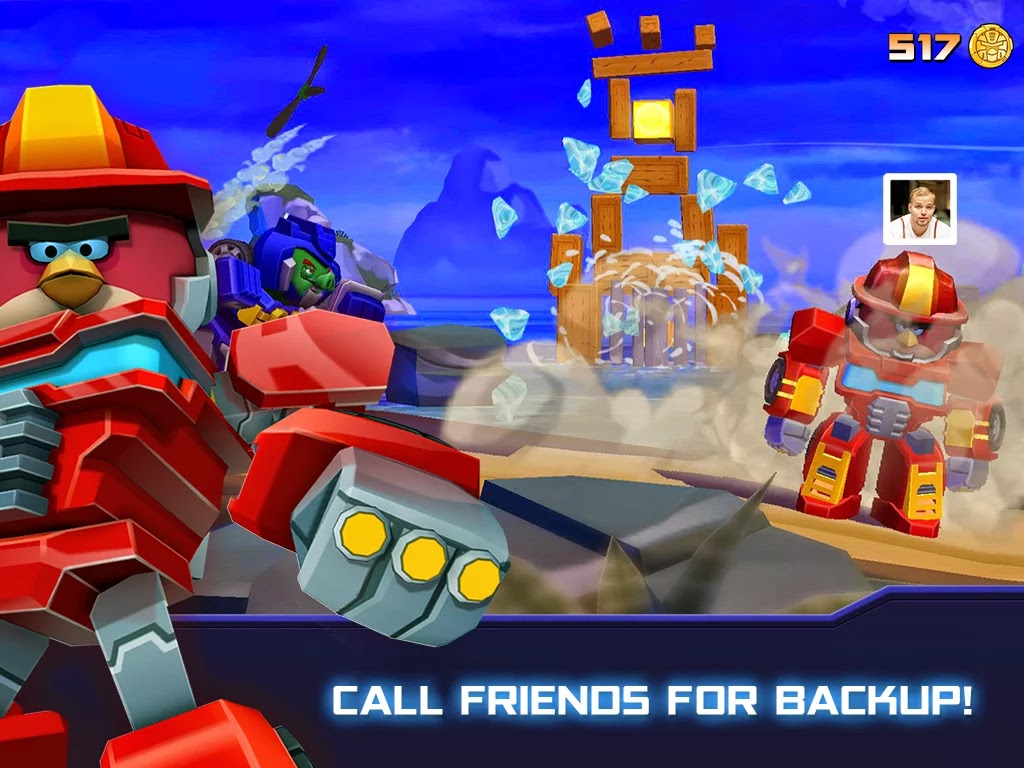 Angry Birds Transformers v1.4.19 Mod