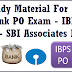 Study Material For IBPS PO Exam 2014 -Previous Paper Download