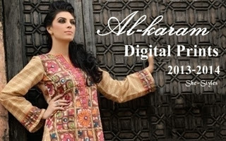 Alkaram Digital Print Collection 2013-201