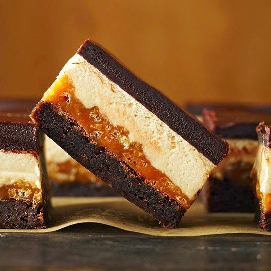 http://www.bhg.com/recipe/four-layer-caramel-crunch-brownies/