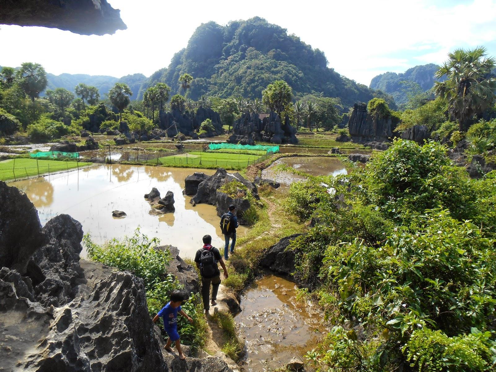 International Festival of Indonesia Largest Cave Karst
