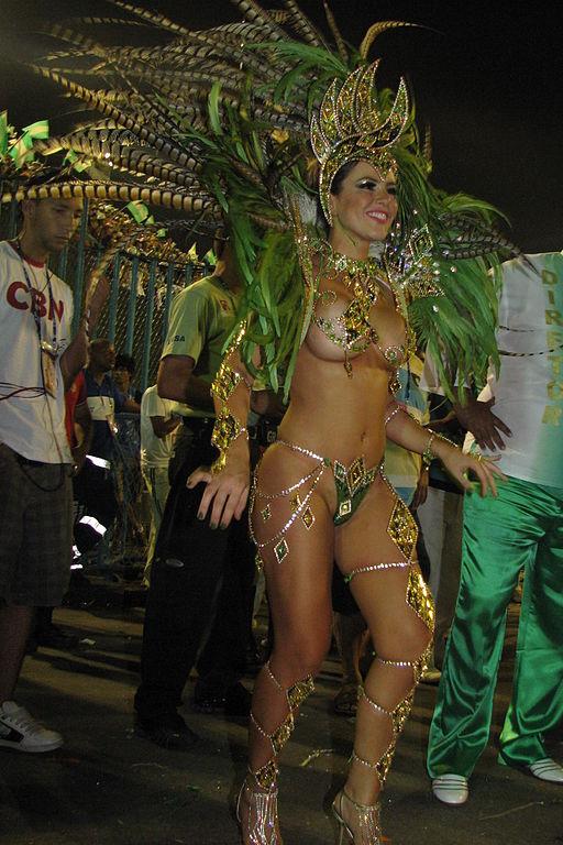 Samba Dancer - GRES Mocidade Independente de Padre Miguel - Rio de Janeiro - Carnival 2010