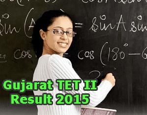 Gujarat TET II Pariksha Result 2015 will be announced in mid August 2015, Gujarat TET 2 Result July 2015 Check at ojas.guj.nic.in. Gujarat TET 2 Result Date, Gujarat TET II Score Card 2015, Gujarat Teacher Eligibility Test July 2015 Results, Gujarat TET II Exam Result 2015