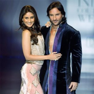 Kareena Kapoor and Saif Ali+Khan - Romantic Bollywood couples