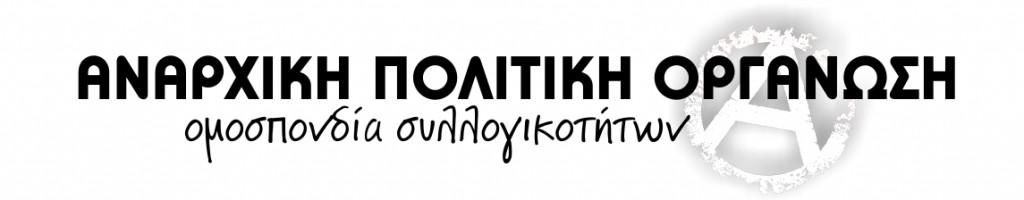 Αναρχική Πολιτική Οργάνωση