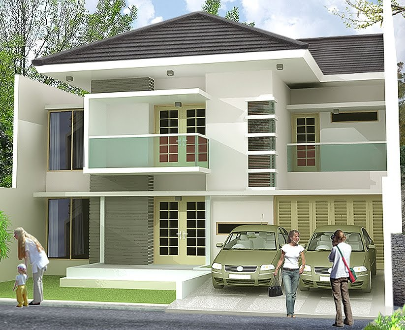 Desain Rumah Mewah Terbaru