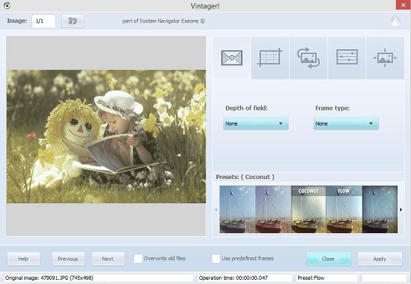 تحميل برنامج Vintager الجديد لتعديل الصور واضافة التأثيرات عليها