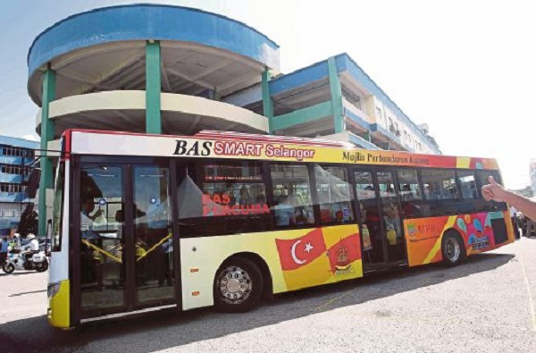 'Smart Selangor' Free Bus Service Now Available In Kajang