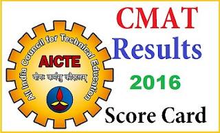 CMAT 2016 Results Date , CMAT 2016 Score cards