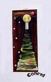 Pintura acrílica al agua en distintos soportes