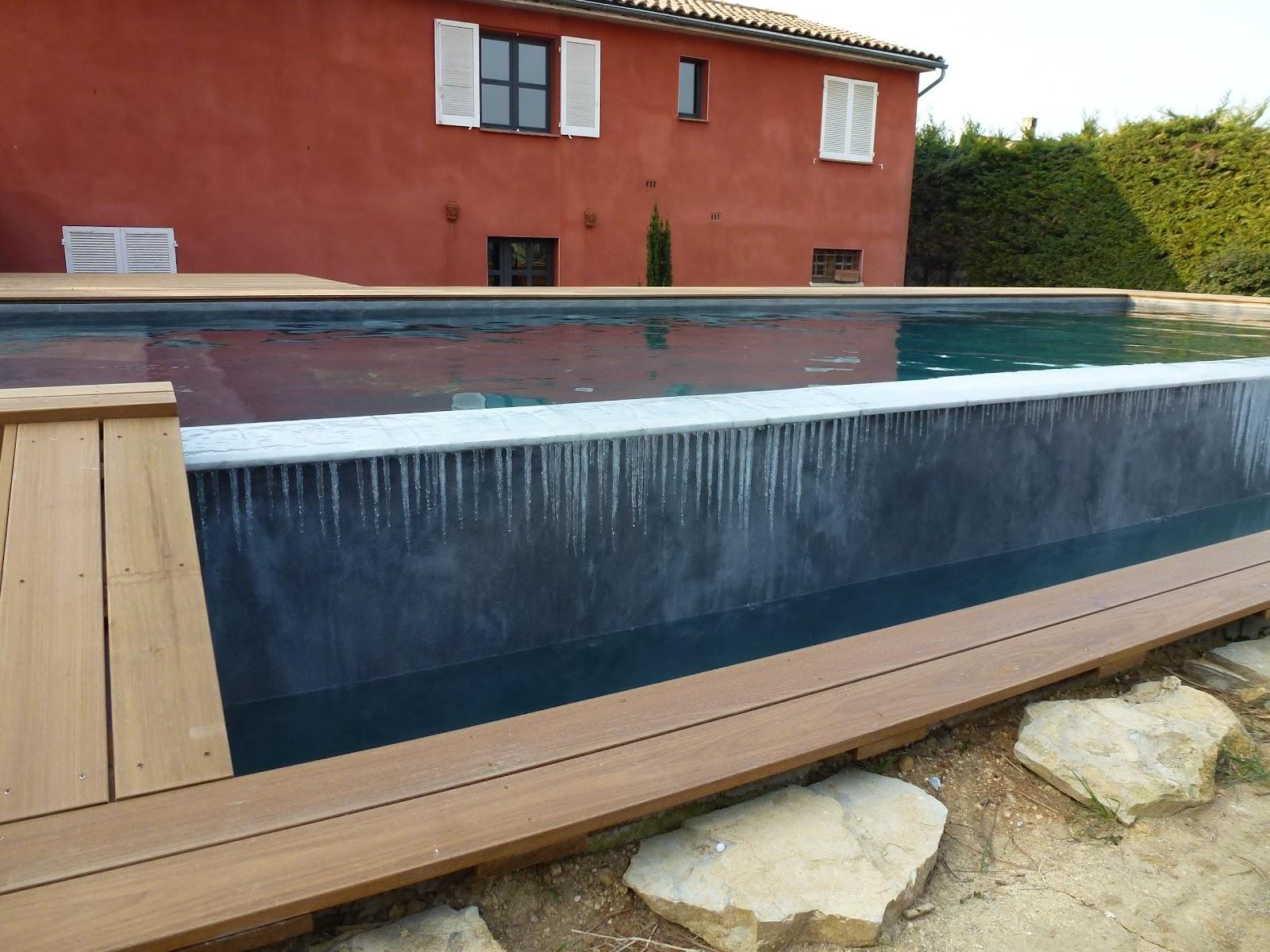 Construction piscine diffazur terrasses en ip par decobois for Construction piscine diffazur