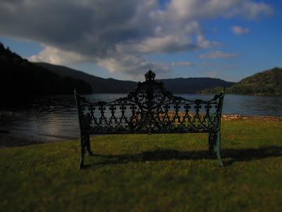 Lake Ullswater from Inn on the Lake