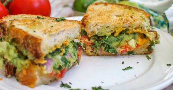 Guacamole Grilled Cheese Sandwich - My Recipes
