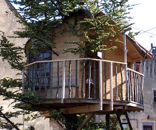 cabane de jardin en bois : modele cabane en bois deco jardin