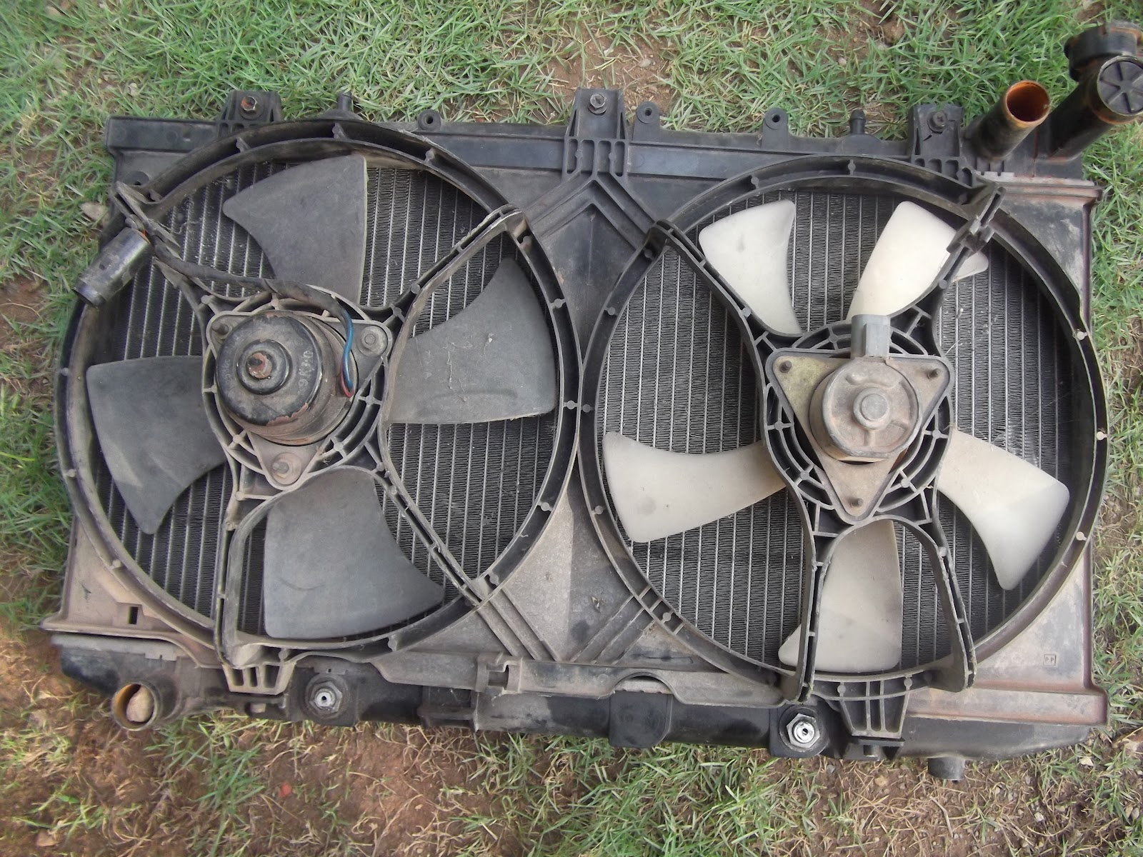 Car Accessories Radiator Nissan B13 With Fan Rm100 Wiring For Turbo