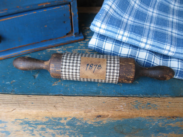 Early One Piece Toy Rolling Pin