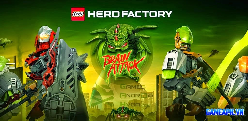 LEGO® Hero Factory Invasion v2.0.0 APK [Unlimited Money]