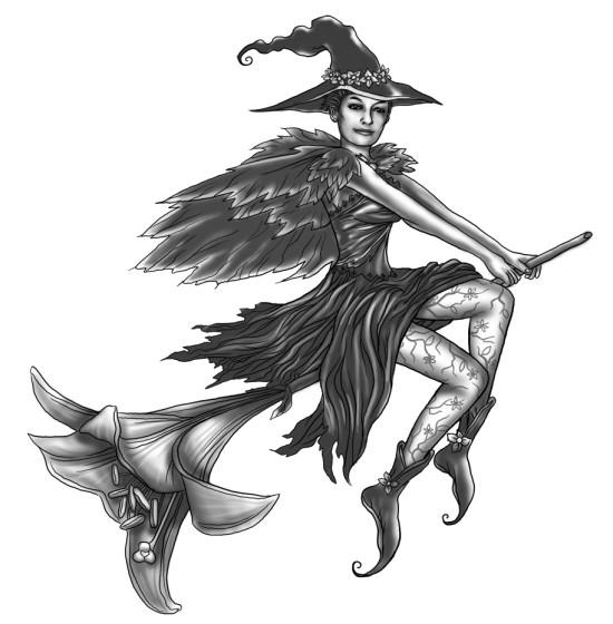 Witch Tattoo Designs