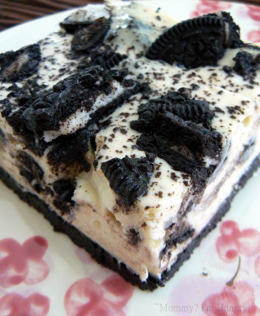 Postre helado Oreo con solo 3 ingredientes