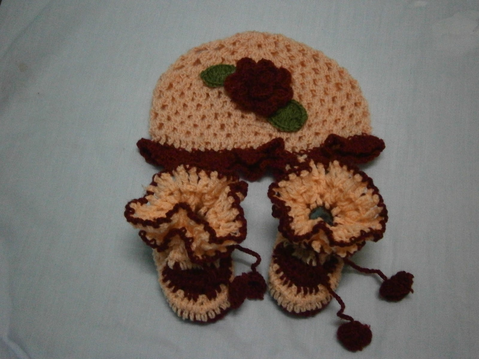 UMMICARE KIDSWORLD : CROCHET HAT SET (NEW DESIGN)