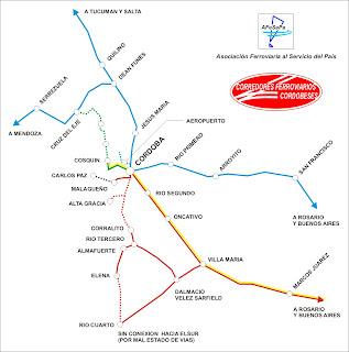 El desafío de recuperar el ferrocarril para los cordobeses
