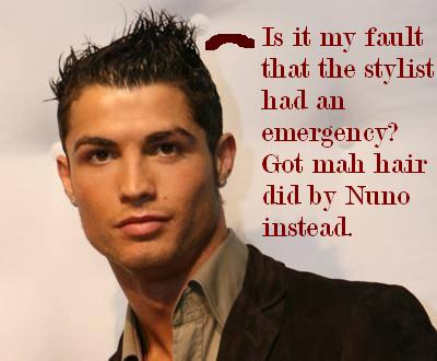 Cristiano Ronaldo Hairstyle Wallpaper Pictures