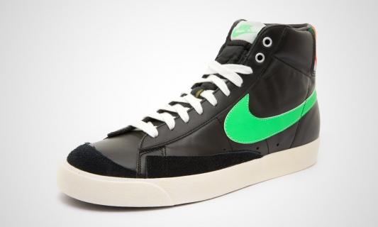 Nike Blazer Mid '77 VNTG (Schwarz/Grün)