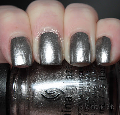 china glaze the great outdoors check out the silver fox review swatches