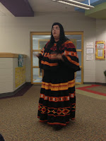 A picture of Ms. Dietra from the Poarch Creek Indian Reservation