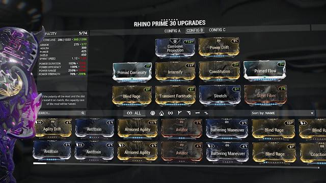 Best Rhino Build Warframe