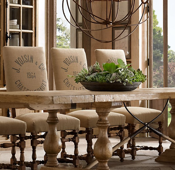 Burlap Home Decor