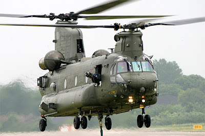 Chinook Support Helicopter RAF