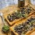 Tarta z pieczarkami i mascarpone