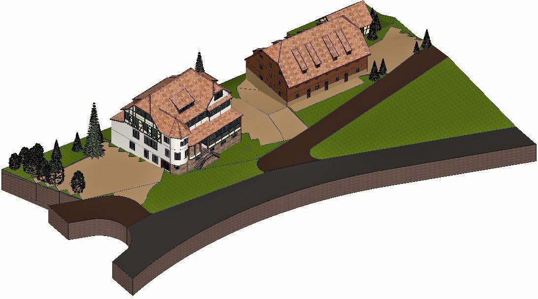 Plan masse Schaentzel / Haut-Koenigsbourg