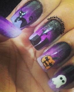 Nail Arts Halloween