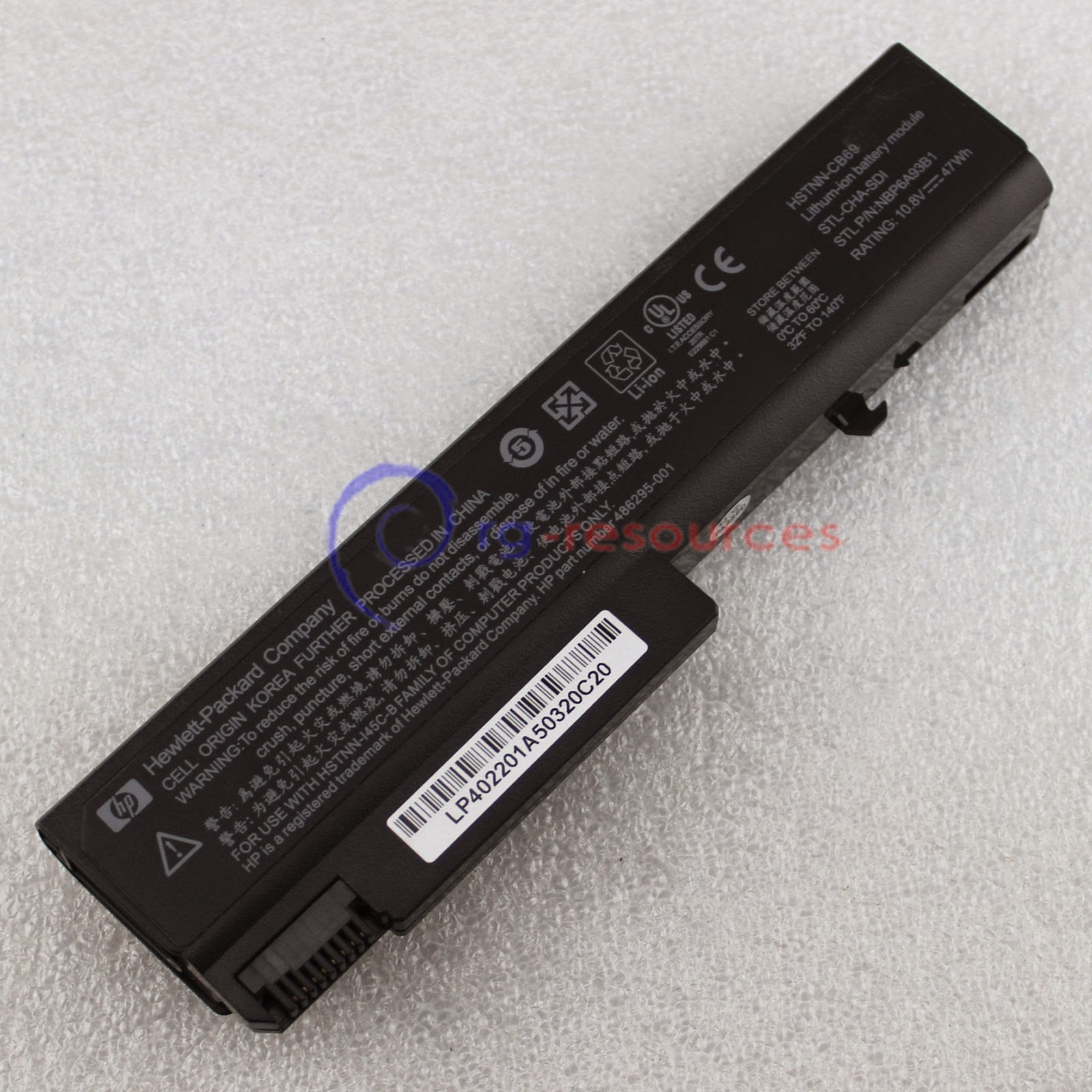 Genuine Original Battery For HP EliteBook 6930p 8440p 8440w 482962-001 KU531AA
