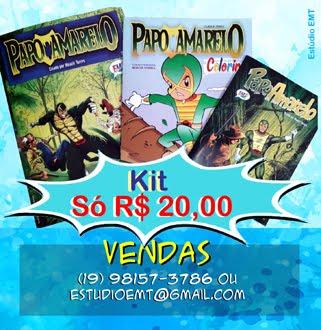 KIT PAPO AMARELO - HERÓI