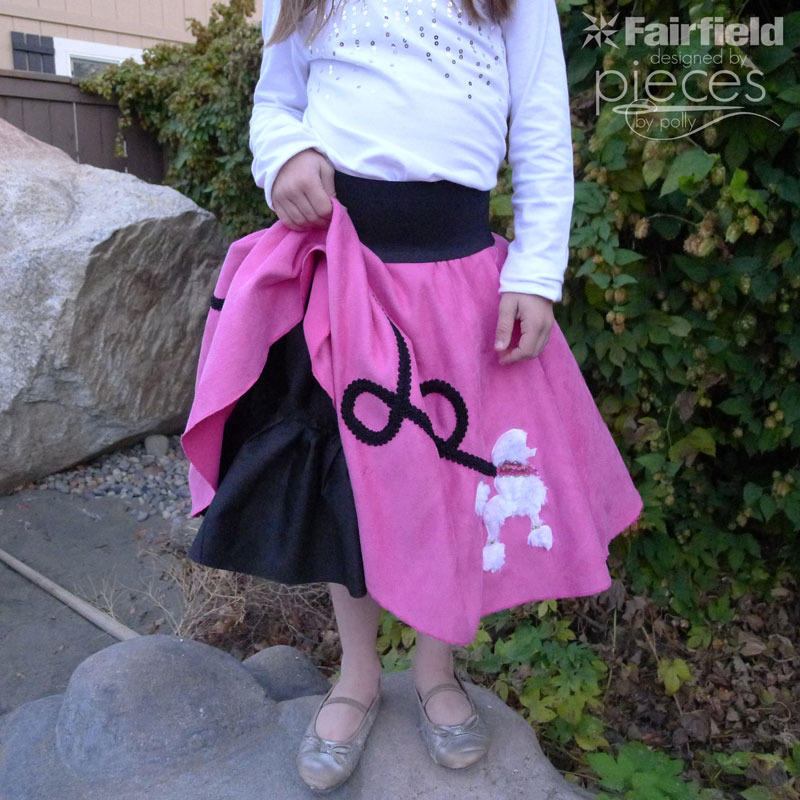 Pieces By Polly A Poodle Skirt For Everyday With Cuddle Fabrics