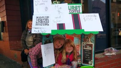Bài học marketing từ quầy nước chanh của cô bé 6 tuổi