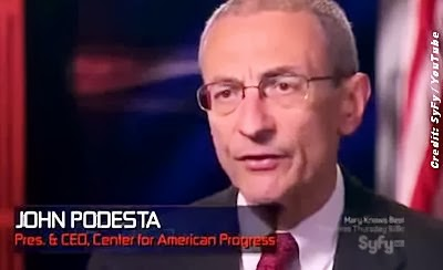 John Podesta (Interview on Inside Secret Government Warehouses)