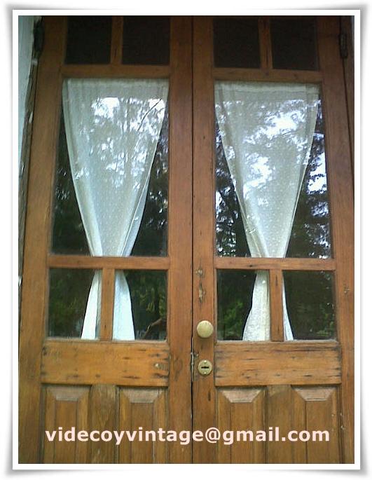 Videcoyvintage deco maximiz la est tica de tus puertas - Como hacer cortinas para puertas ...