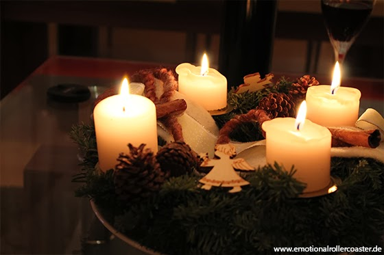 Adventskranz - Vierter Advent