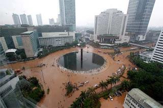 Banjir di Bundaran HI