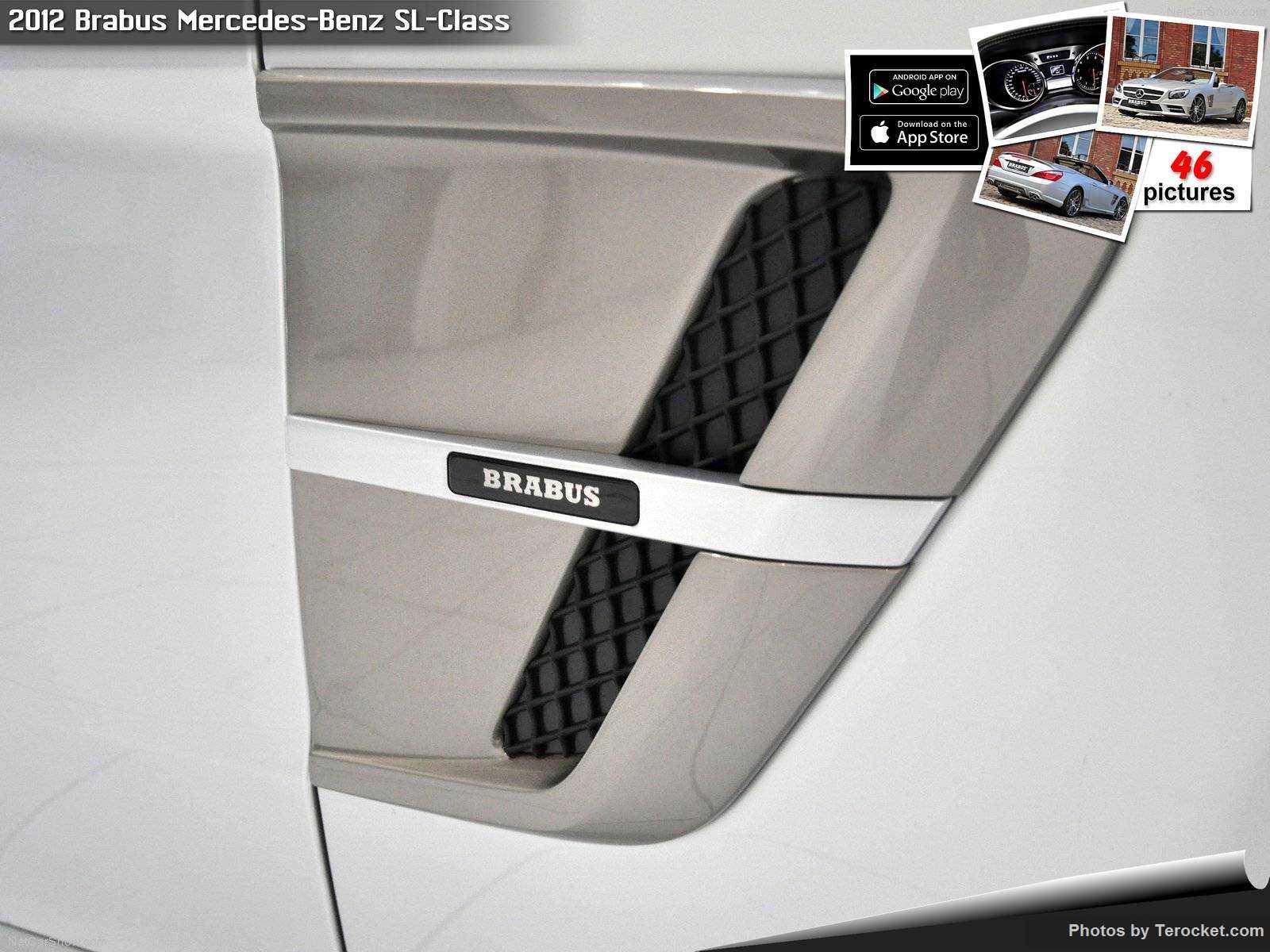 Hình ảnh xe ô tô Brabus Mercedes-Benz SL-Class 2012 & nội ngoại thất