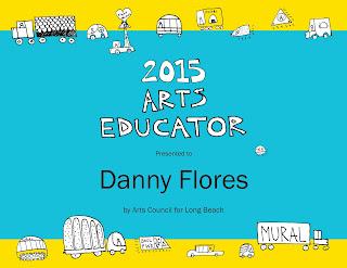 2015 Arts Educator - Danny Flores