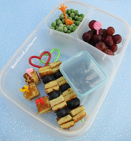 ... School Lunches : Bento Lunch: French Toast Kebabs Breakfast For Lunch